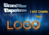create a brand new logo in 48hrs