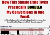 Show You My Easy Email Profits Methods