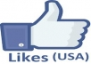 give you 350+ Real Facebook likes from USA Users to your Facebook Page without admin access less than 10 hours
