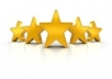 give you  10 Google +1 and 10 5 star reviews to your android app for 5 bucks USA