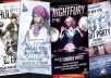 design a badass FLYER for your events or promotional media