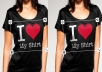 design You an Attractive eye catching and Professional T SHIRT within 24hrs