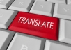 translate any article about 300 words, from English to Arabic/Arabic To English with a professional translation