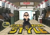 make Psy dance in GANGNAM Style around your logo or text
