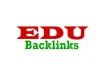 create 100 .edu Backlinks to boost your website's rankings