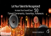 give SOUNDCLOUD 50 timed comments+50 followers+50 favorites+ 10 Google plus share