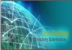 submit top 200 PR7 to PR2 seo friendly directories manually