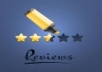 get 3 Positive 5 star Reviews for Your Google Places