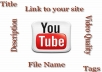 optimize your uploaded video on YouTube for maximum ranking