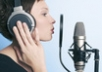 read and record female voice english or french or spanish