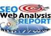 Give You Full On Page seo report for any keyword,domain and URL