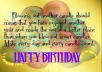 create an awesome birthday greetings