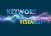 make comprehensive keyword report