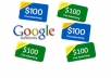 give You 3x ADWORDS Coupon Vouchers Worth 100 Dollars Within 12 Hours