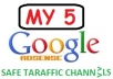 supply You With All My 5 Google Adsense Safe Traffic Sources  I Am Using To Make On Average USD2000 Monthly