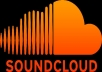Promote an ARTIST on Soundcloud for a week with 25000 play + 1000 follower + 1000 Favorites + 200 Comments