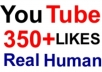 provide 350+ Real Human YouTube Likes for your videos within 2 days,Promote it to 15,000 folowers and Fans on facebook fanpage and twitter