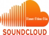 provide SOUNDCLOUD service with  50 Comments +100 followers + 100 favorites