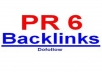 manually comment on 3 Super High Page Rank pr 6 links, Actual Page PR6