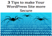 teach you how to make your Wordpress site more Secure