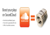 increase your SOUNDCLOUD plays by 5000 + 2000 Downloads bonus for only