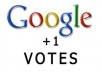 provide you 40 GOOGLE PLUS votes G+ from real accounts only