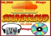 get You 50000 Soundcloud Plays To Your SoundCloud Music Track + 5000 Soundcloud Followers to your profile within 48 hours