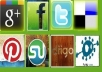do social BOOKMARKING 30 stumbleupon, 50 Delicious for your site