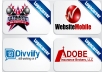 create a stunning and custom LOGO  Design or Redesign Logo for your website, company, business or blog Less Then 24 Hours