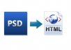 professionally convert psd to html according to w3c standards