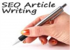write 5 SEO article with keyword density (350+ word) per article