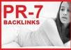 build 46 Highpr Including 2xPR7 Backlinks Manually 2PR7 + 4Pr6 + 10Pr5 + 10Pr4 + 20Pr3 Blog Comment Dofollow on Actual Page