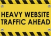 show you how to create real human traffic
