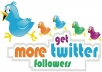 provide Real 500 Twitter FOLLOWERS to your account without any Admin access just