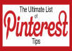 Show you an AMAZING TOOL that will help you grow your Pinterest Followers, Repins and Likes free of charge