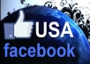 get you 400 Genuine Facebook like usa on your Facebook page 24 hours