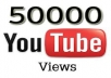 give you 50,000 youtube views 10 dollars deliver in 48 hrs