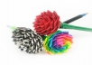 I will custom make 6 duct tape rose pens. They make perfect gifts and are very handy in offices. Never have your pen stolen again! You can pick from the following colors: - Gold - Silver - Light Blue - Black - Red - Hot Pink - Lime Green - Purple - Hello Kitty print - Paint Splatter - Camo print