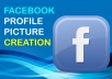 create a stunning Facebook profile picture for either personal, group, or business