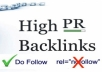 Provide 1,500 DoFollow backlinks PR1-8 no zero
