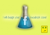 design an attractive professional and sparkling facebook cover for your fan page