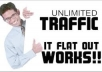 teach You how to Get Free REAL TRAFFIC without limit!