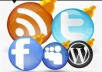 add 1500+ facebook likes [Permanent] to your facebook fanpage OR 1000+ twitter followers to twitter account, likes Or followers all of them Real and deliver fast