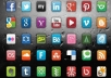 submit your website on PR10 to PR7 social bookmarks, manually