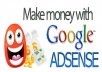 give you a step by step guide on making money online with adsense niche websites