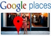 write great SEO tailored two google local place reviews for your business