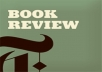 read your book and post a thoughtful, honest REVIEW to boost your sales