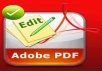 edit professionaly your PDF file