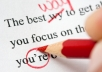 proof read and edit your document