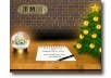design a very SPECIAL Christmas ecard with your logo and message